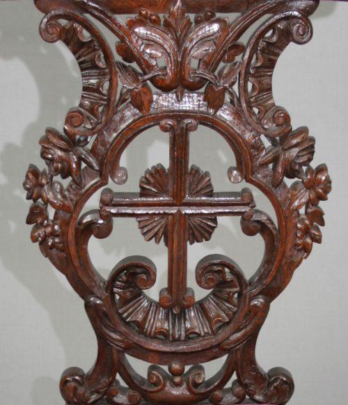 Antique French XIX Century Oak Prie Dieu