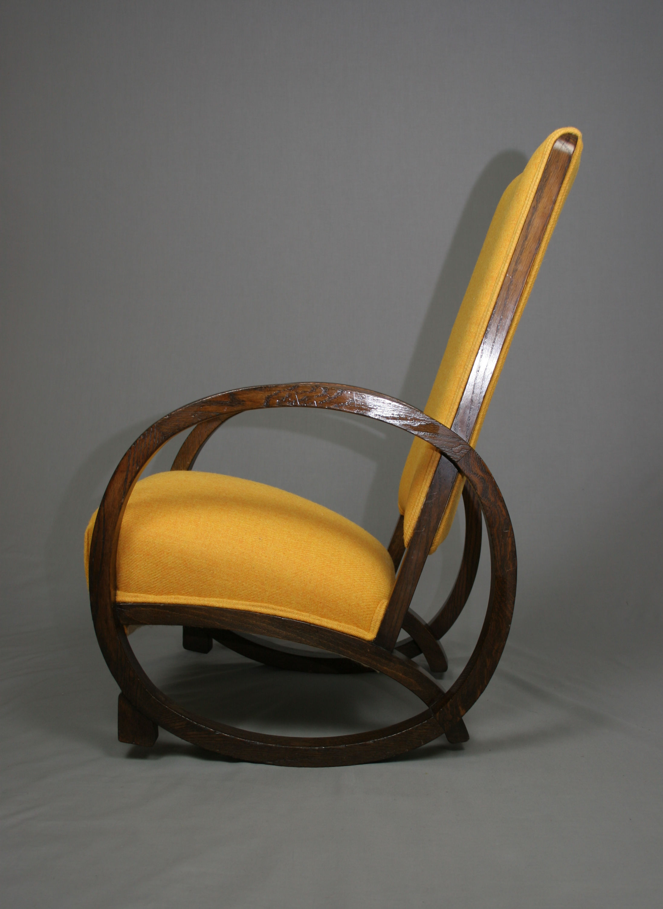 Art Deco Rocking Chair Sold Antique Chairs