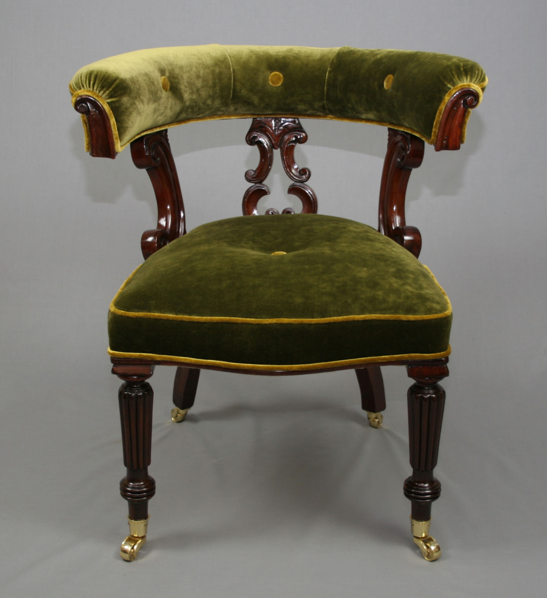 Victorian Mahogany Library ChairAntique Victorian Mahogany Library Chair   Antique Chairs  . Antique Library Armchairs. Home Design Ideas