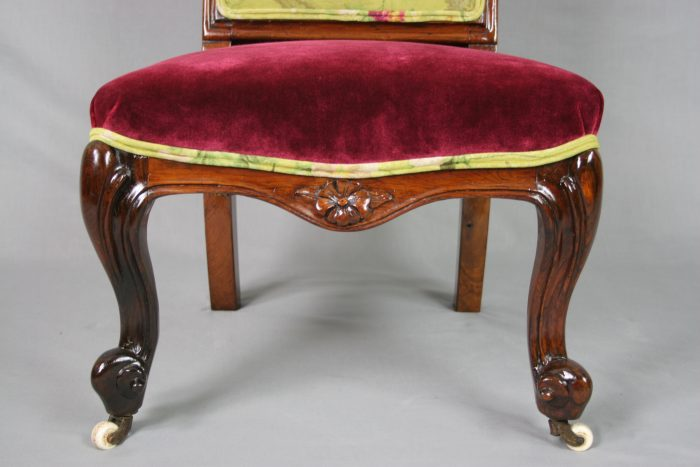 Victorian Rosewood Occasional Chair