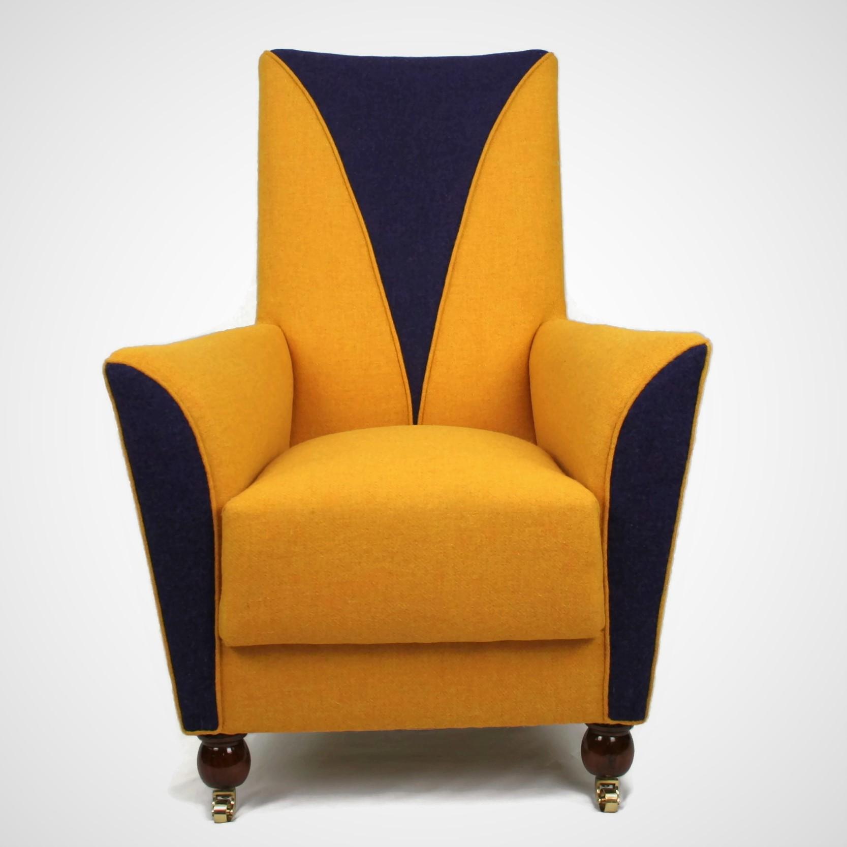 Art Deco Rocking Armchair Antique Chairs Restoration